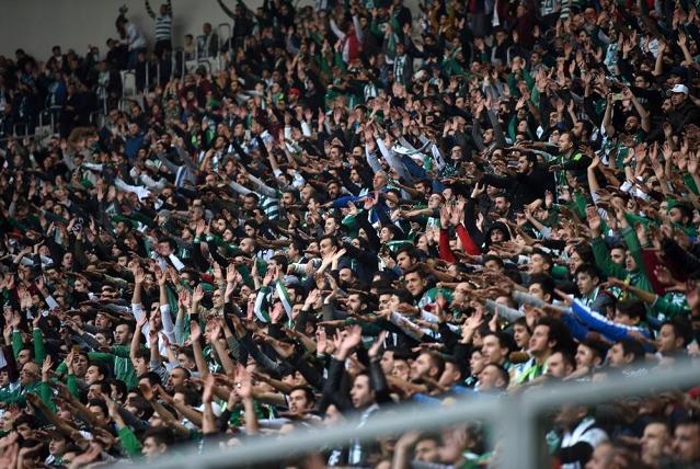 Bursaspor taraftarı 2 bin 581 adet hatıra kombine kart aldı