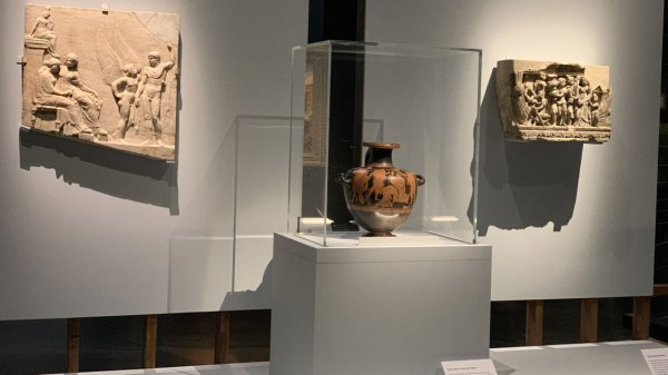 Türkiye den çalınan eserlerle Londra da Troya sergisi #1