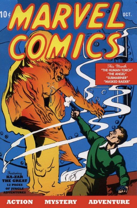Marvel'in ilk çizgi romanına 1.26 milyon dolar #2